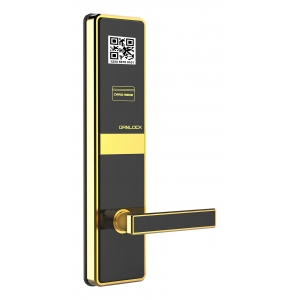Keyless access qr code RFID card hotel door lock