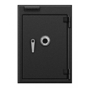 Mechanical lock pull drawer deposit Safe box