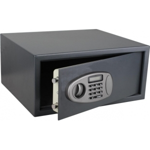 Steel built electronic hotel room security safes
