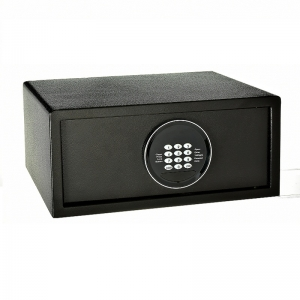 Production of hotel-style password lock safes for 17-inch laptops