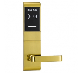 China wholesale smart card Hotel Locks Intelligent Hotel Card Lock System factory