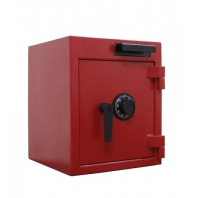 China Combination dial lock depository safe with pull drawer factory