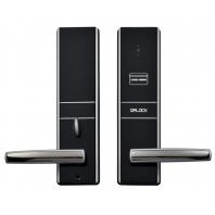 China Safety APP Bluetooth nfc Electronic Keyless Smart Door Lock with Barcode Scanner factory