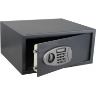 China Steel built electronic hotel room security safes factory