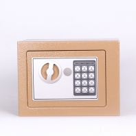 La fábrica de China keyless access digital code keypad lock home furniture safe box with key backup