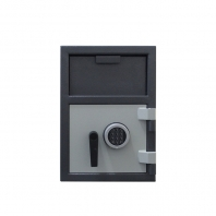 China wholesales popular depository front loading hopper safe with diy money safe box factory